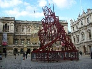 Vladimir Tatlin's, Monument to theThird International © London Art Reviews.com