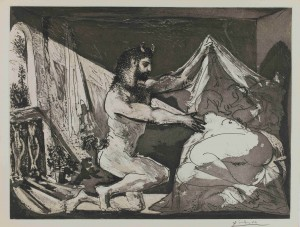 """Picasso prints: the Vollard Suite"" at the British Museum. (2/4)"