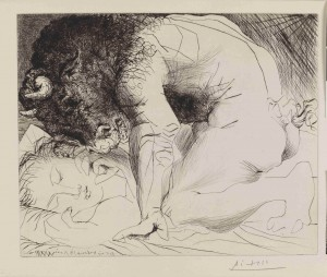 """Picasso prints: the Vollard Suite"" at the British Museum. (4/4)"