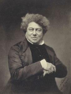 Alexandre Dumas pére, courtesy Wikipedia