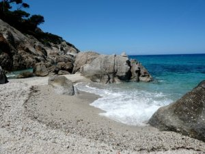 Cala Maestra bay at Montecristo Island