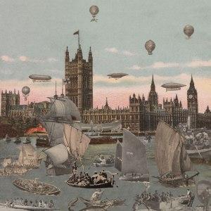 Sir Peter Blake, London- River Thames- Regatta, 2012 © Paul Stolper Gallery, co. London Art Fair