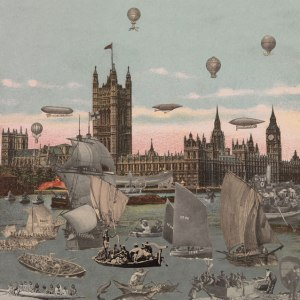 Sir Peter Blake, London- River Thames- Regatta, 2012 © Paul Stolper Gallery, co. London Art Fair