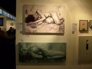 Naked portrait by Oliver Winconek