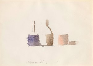 Morandi, Still Life, 1960 Watercolour on paper, Courtesy Galleria d'Arte Maggiore G.A.M., Bologna.