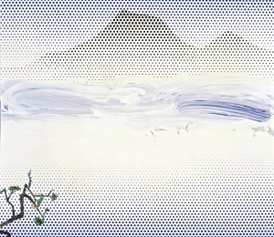 Landscape in Fog, 1996 © Courtesy of Estate of Roy Lichtenstein