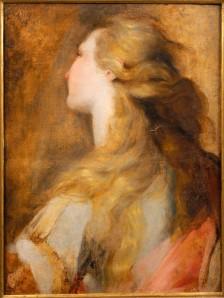 Head study for Mary  Magdalen, Musée Bonnat- Helleu, Bayonne  ©  RMN- Grand Palais / Daniel Arnaudet