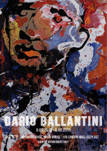 Dario Ballantini at the Art MoorHouse, London.
