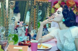 Actress 04, 2012 Lambda print, Edition of 6 © Miles Aldridge, ph. Co. Brancolini Grimaldi