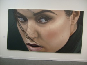 Sasha II by Richard Phillips 2012 © LondonArtReviews.com