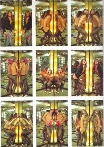 Spiegelglass, 1973 by Luciano Castelli © Saltoun Gallery