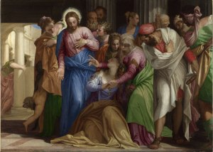 The Conversion of Mary Magdalene, about 1548 © The National Gallery, London.