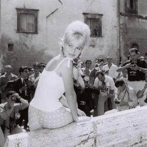 Marcello Geppetti (1933-1998) Brigitte Bardot in Spoleto, June 1961 MGMC & Solares Fondazione delle Arti
