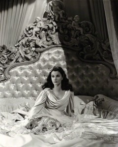 Vivien Leigh as Lady Hamilton in 'That Hamilton Woman' by Robert Coburn, or by Laszlo Willinger bromide print, 1941 @ National Portrait Gallery.