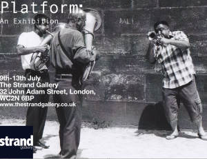 Platform photo exhibition at The Strand Gallery, London.