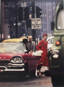 Anne St Marie + cruiser, New York 1962 (Vogue) © William Klein, co. Micheal Hoppen Gallery