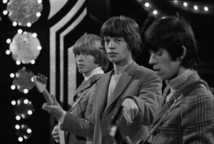 The Rolling Stones © David Farrell, courtesy Osborne Gallery