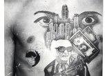 Russian Criminal Tattoo Police Files © Arkady Bronnikov, co. Grimaldi Gavin Gallery