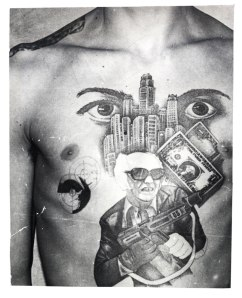 Russian Criminal Tattoo Police Files © Arkady Bronnikov, co. Grimaldi Gavin Gallery