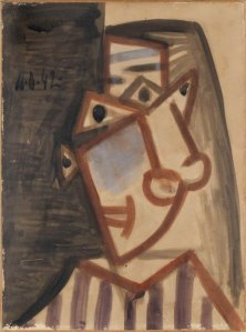 Pablo Picasso, Portrait of Dora Maar, 1942, Courtesy of Gilden's Arts Gallery London Art Fair