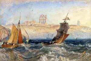 J.M.W. Turner, Tynemouth Priory, c. 1822, Donated by E.L. Hartley © Blackburn Museum and Art Gallery