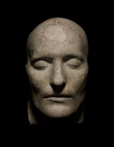 Cast of the Death Mask of Napoleon, 1830s , Plaster of Paris © The Trustees of the British Museum