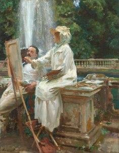 The Fountain, Villa Torlonia, Frascati, Italy, 1907 © Art Institute of Chicago