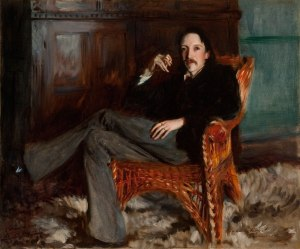 Robert Louis Stevenson by John Singer Sargent, 1887 © Courtesy of the Taft Museum of Art, Cincinnati, Ohio