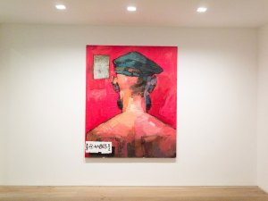 Background #20 by Dawit Abebe, 2015 © Kristin Hjellegjerde Gallery, London.