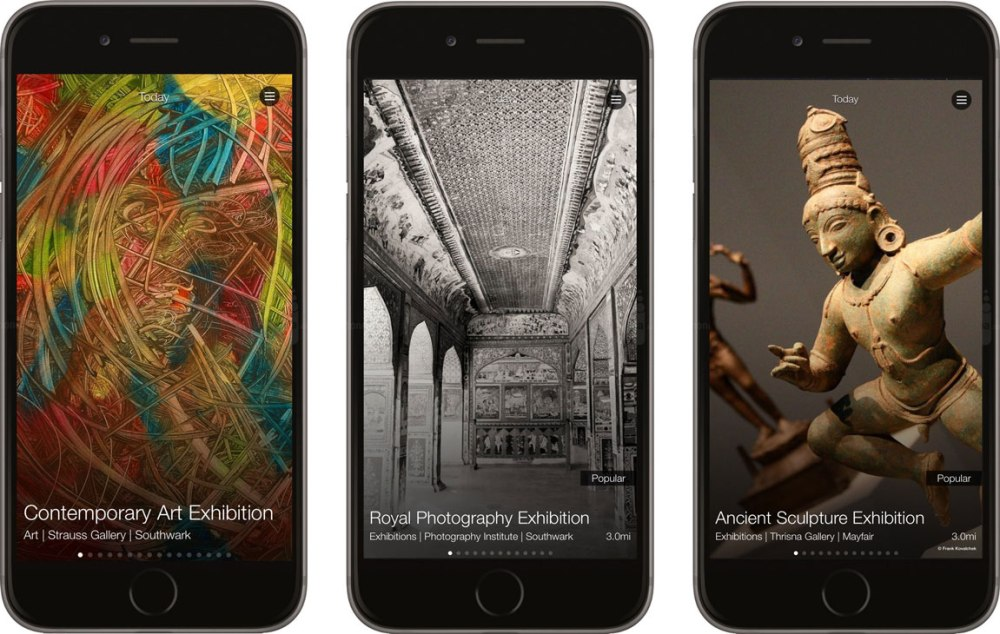 Discover the art opportunities of London using the free app Culture Key.