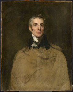 Arthur Wellesley, 1st Duke of Wellington by Sir Thomas Lawrence, 1829 © On loan to National Portrait Gallery by kind permission of Mr. & Mrs. Timothy Clode