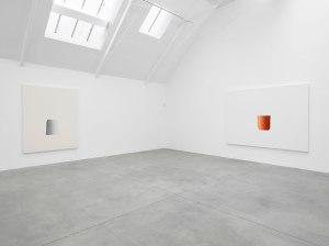 Installation view, Lee Ufan at Lisson Gallery, London, 25 March - 9 May 2015, Courtesy the artist and Lisson Gallery