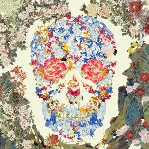 Chinese Floral Skull, 2015, co. Fine Art Society, London, ® Jacky Tsai