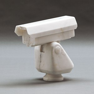 Surveillance Camera, 2010, courtesy Ai Weiwei © Ai Weiwei, at Royal Academy of Arts London.
