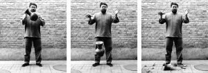 Dropping a Han dynasty Urn, 2005, courtesy Ai Weiwei © Ai Weiwei at Royal Academy of Arts, London.