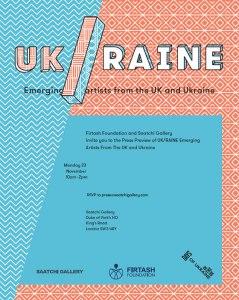Saatchi Gallery,  exhibition, London,  UK/raine, Ukraine.