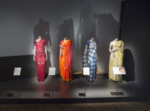 Installation view of The Fabric of India at the VA c Victoria and Albert Museum, London