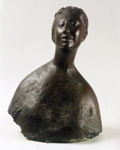 Bust of a Woman by Giacomo Manzù, 1952, Bronze © Estorick Collection, London