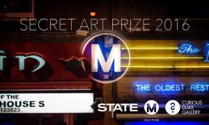 Curious Duke Gallery, London, and Secret Art Prize for Moniker Art Fair 2016