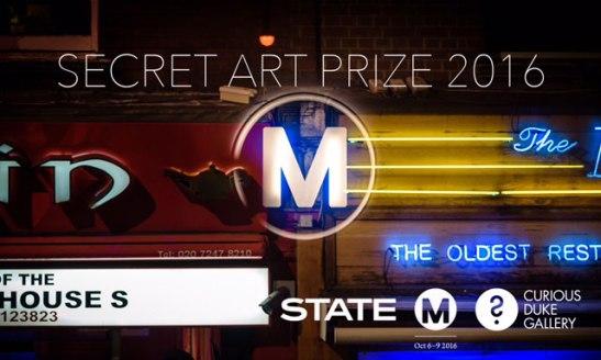 Curious Duke Gallery, London, and Secret Art Prize for Moniker Art Fair 2016