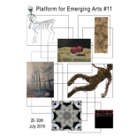 Platform for Emerging Arts #11 exhibition at the Leyden Gallery, London.
