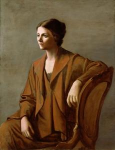 Portrait of Olga Picasso by Pablo Picasso, 1923 © Succession Picasso/DACS, London