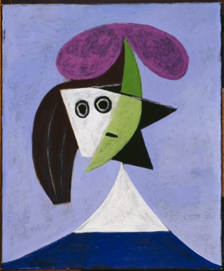Woman in a Hat (Olga) by Pablo Picasso, 1935. © Centre Pompidou, MNAM-CCI, Dist. RMN-Grand Palais / Droits reserves
