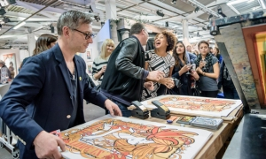 Secret Art Prize 2017, Curious Duke Gallery, London