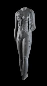 Statue of Arsinoe, Canopus, Aboukir Bay, Egypt © Franck Goddio / Hilti Foundation - Ph. Christoph Gerigk, co. British Museum.