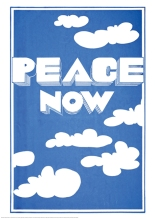Peace Now Print, Revolution exhibition © V&A Museum, London.
