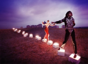 An illuminating path, 1998 by David LaChapelle. Courtesy of the artist © David LaChapelle