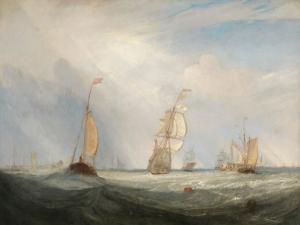 J.M.W. Turner, Helvoetsluys ('Helvoetsluys;-  the City of Utrecht, 64, going to sea'), 1832, co. Tokyo Fuji Art Museum, Ph. © Tokyo Fuji Art Museum / Bridgeman Images